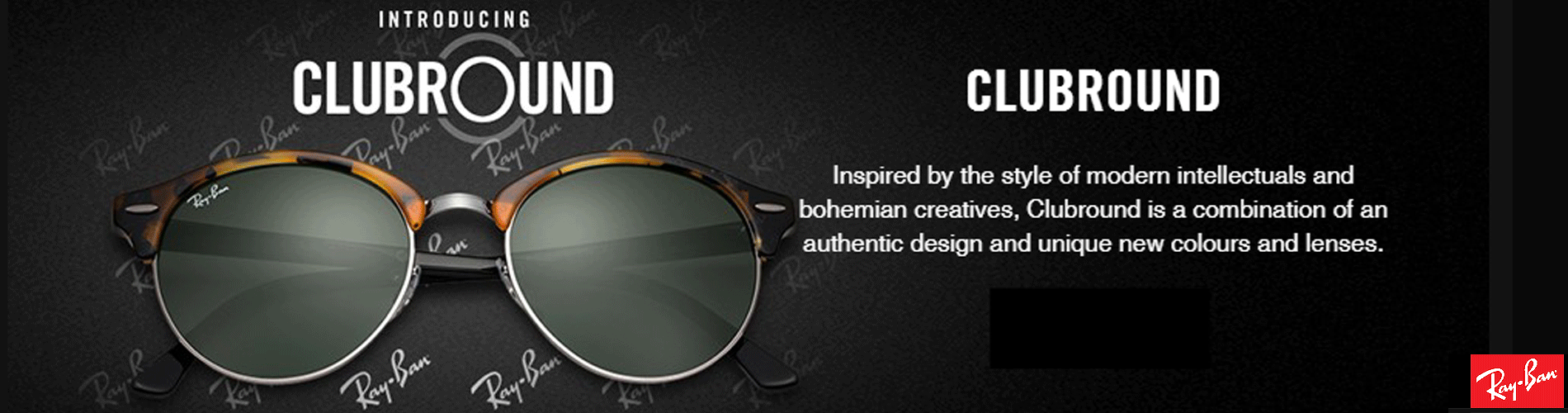 Ray ban sunglasses new design - Ray Ban Clubmaster Round