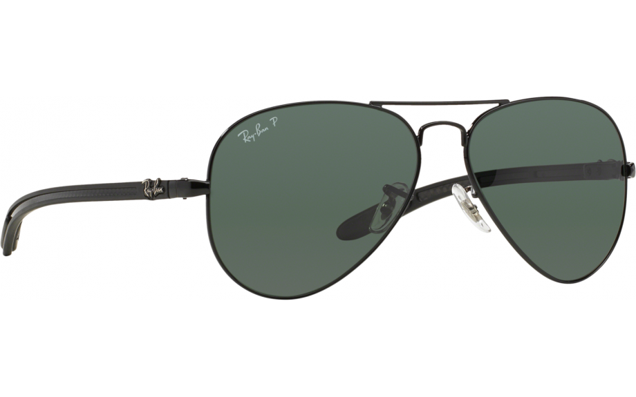 d4002e9f6c ... low price ray ban aviator carbon fibre rb8307 002 n5 55 sunglasses free  shipping shade station