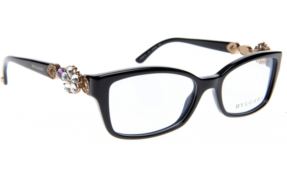 Funky Bvlgari Glasses Frames With Crystal Flowers Model - Picture ...