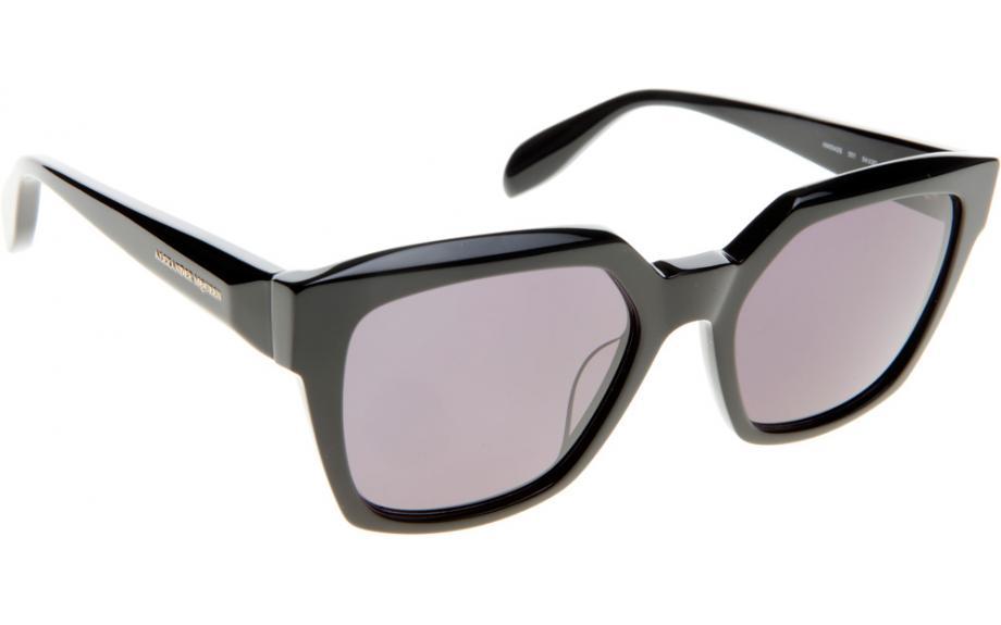 d0fc560ef6a Alexander McQueen AM0042S 001 54 Sunglasses - Free Shipping