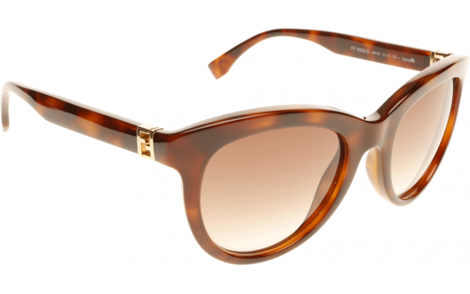 4ee335b07c74 Fendi The Fendista FF0006/S 8NH 52 Sunglasses - Free Shipping | Shade  Station