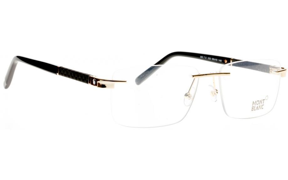 967e6cd043ba Mont Blanc MB0712 V 032 56 Glasses - Free Shipping
