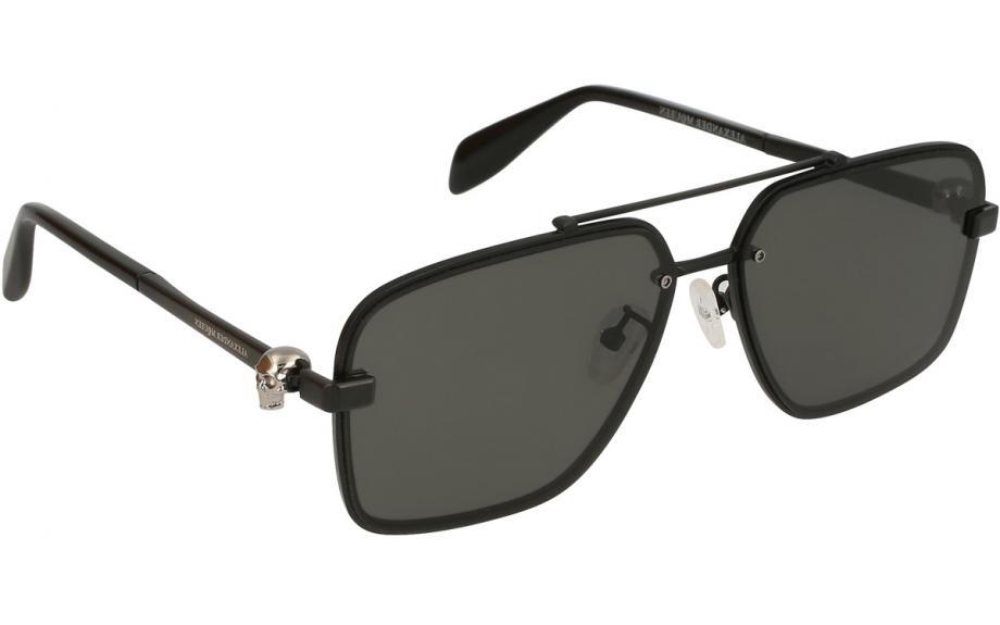 1b1cc8bef5cf Alexander McQueen AM0081S 002 60 Sunglasses - Free Shipping